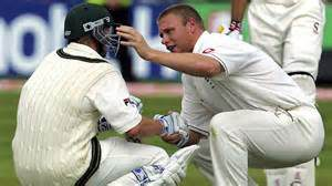 Flintoff and lee