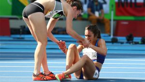 Olympics sportsmanship